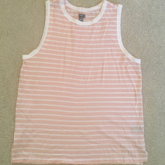 aerie Tops - Aerie Striped Tank Top